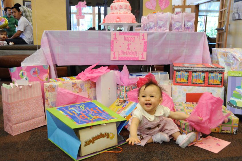 Blakely Hall Issaquah baby birthday party