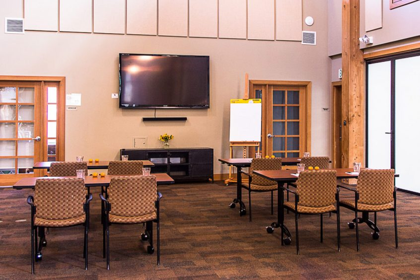 Blakely Hall Great Room Meeting Classroom